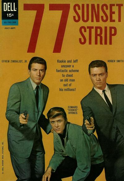 Cover for 77 Sunset Strip (Dell, 1962 series) #1