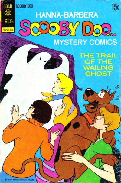 Cover for Hanna-Barbera Scooby-Doo...Mystery Comics (Western, 1973 series) #17