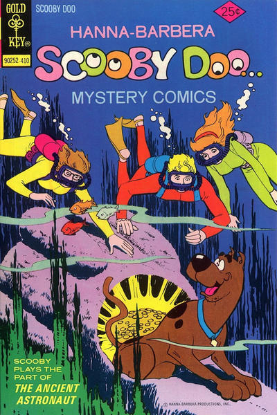 Cover for Hanna-Barbera Scooby-Doo...Mystery Comics (Western, 1973 series) #28 [Whitman]