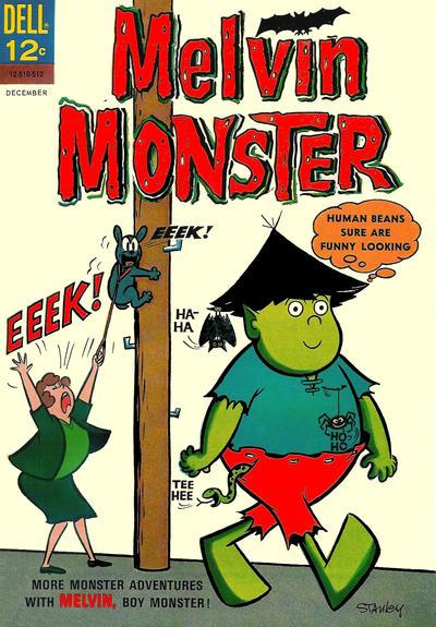 Cover for Melvin Monster (Dell, 1965 series) #3