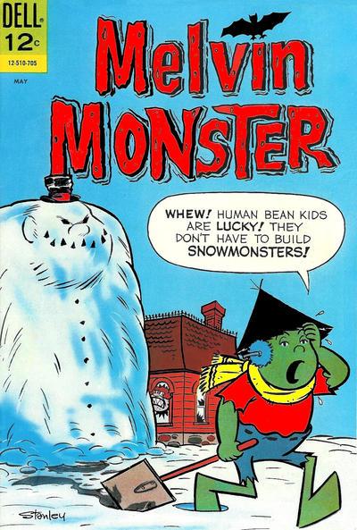 Cover for Melvin Monster (Dell, 1965 series) #8