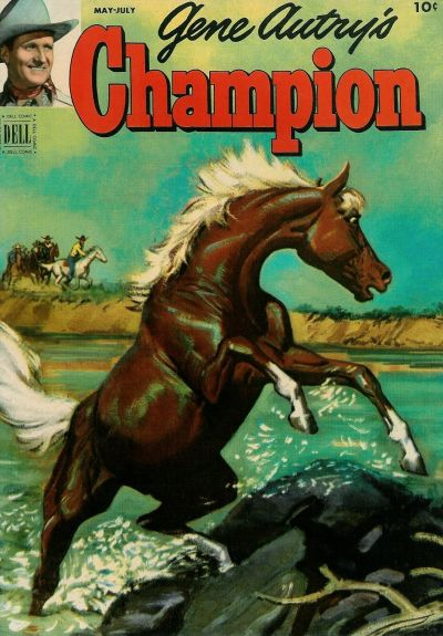 Cover for Gene Autry's Champion (Dell, 1951 series) #6