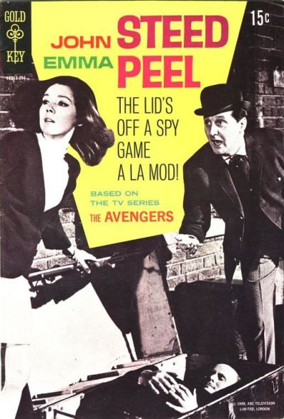 Cover for The Avengers [John Steed Emma Peel] (Western, 1968 series) #1