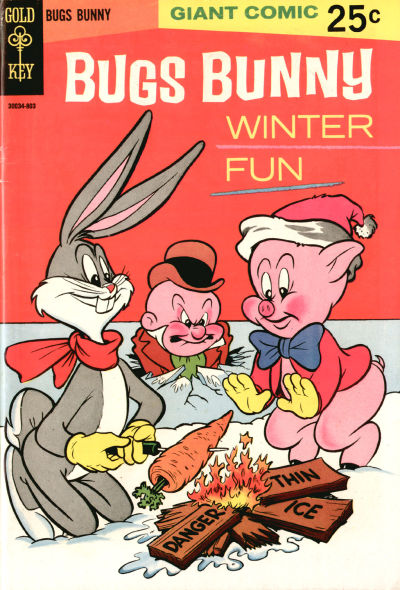Cover for Bugs Bunny Winter Fun (Western, 1967 series) #1