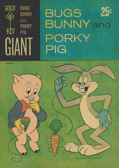 Cover for Bugs Bunny and Porky Pig (Western, 1965 series) #1