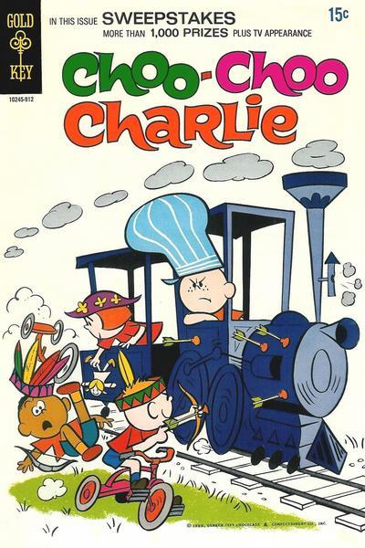 Cover for Choo Choo Charlie (Western, 1969 series) #1