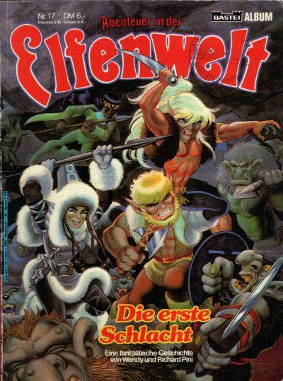 Cover for Abenteuer in der Elfenwelt (Bastei Verlag, 1984 series) #17
