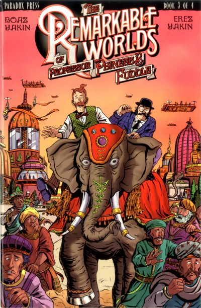 Cover for The Remarkable Worlds of Phineas B. Fuddle (DC, 2000 series) #3