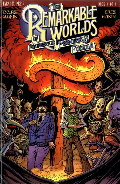 Cover for The Remarkable Worlds of Phineas B. Fuddle (DC, 2000 series) #4