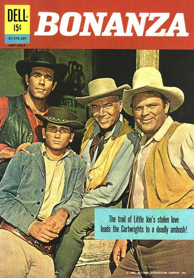 Cover for Bonanza (Dell, 1962 series) #01070-207
