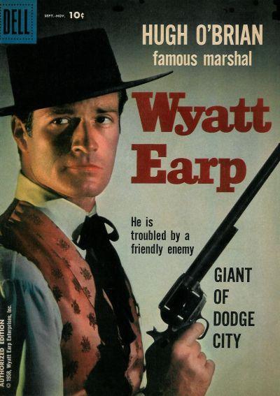 Cover for Hugh O'Brian, Famous Marshal Wyatt Earp (Dell, 1958 series) #4