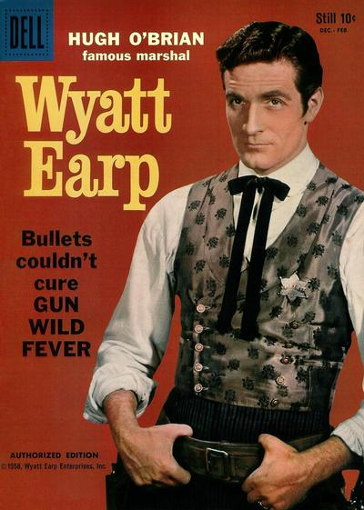 Cover for Hugh O'Brian, Famous Marshal Wyatt Earp (Dell, 1958 series) #5