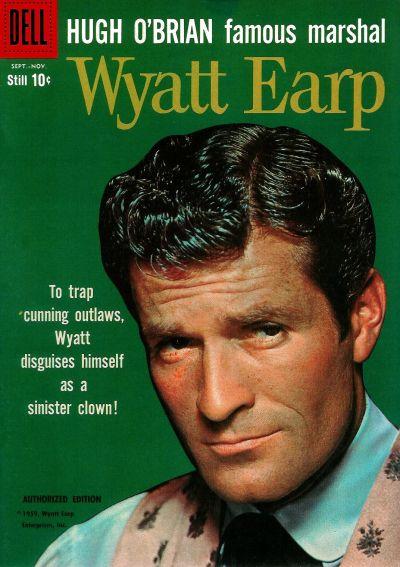 Cover for Hugh O'Brian, Famous Marshal Wyatt Earp (Dell, 1958 series) #8
