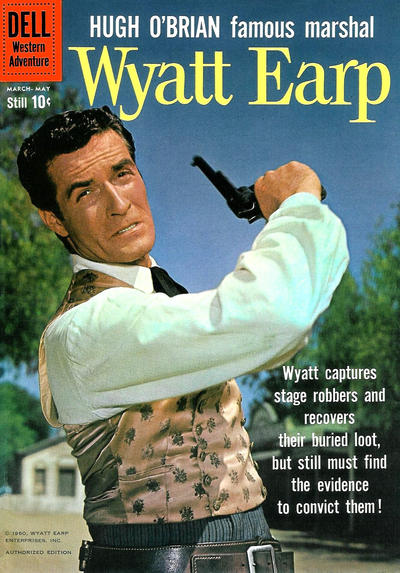 Cover for Hugh O'Brian, Famous Marshal Wyatt Earp (Dell, 1958 series) #10