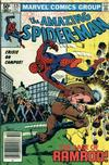 Cover Thumbnail for The Amazing Spider-Man (1963 series) #221 [Newsstand Edition]
