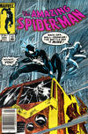 Cover for The Amazing Spider-Man (Marvel, 1963 series) #254 [Direct Edition]