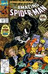 Cover for The Amazing Spider-Man (Marvel, 1963 series) #333 [Direct Edition]