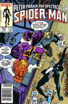 Cover Thumbnail for The Spectacular Spider-Man (1976 series) #93 [Newsstand Edition]