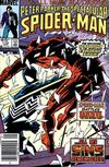 Cover Thumbnail for The Spectacular Spider-Man (1976 series) #110 [Newsstand]