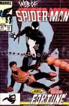 Cover for Web of Spider-Man (Marvel, 1985 series) #10 [Direct]