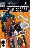 Cover for Web of Spider-Man (Marvel, 1985 series) #12
