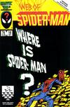 Cover for Web of Spider-Man (Marvel, 1985 series) #18 [Direct Edition]
