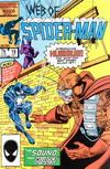 Cover for Web of Spider-Man (Marvel, 1985 series) #19 [Direct]