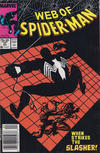 Cover for Web of Spider-Man (Marvel, 1985 series) #37 [Newsstand]