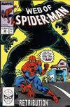 Cover for Web of Spider-Man (Marvel, 1985 series) #39 [Direct]