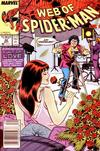 Cover for Web of Spider-Man (Marvel, 1985 series) #42 [Newsstand]