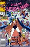 Cover Thumbnail for Web of Spider-Man (1985 series) #46 [Newsstand Edition]