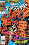 Cover for Web of Spider-Man (Marvel, 1985 series) #47 [Direct Edition]