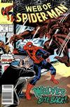 Cover for Web of Spider-Man (Marvel, 1985 series) #51 [Newsstand Edition]