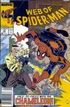 Cover for Web of Spider-Man (Marvel, 1985 series) #54 [Newsstand Edition]