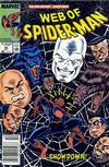 Cover Thumbnail for Web of Spider-Man (1985 series) #55 [Newsstand Edition]