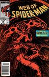 Cover Thumbnail for Web of Spider-Man (1985 series) #58 [Newsstand Edition]