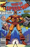 Cover Thumbnail for Web of Spider-Man (1985 series) #60 [Newsstand Edition]