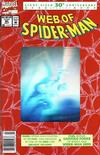 Cover Thumbnail for Web of Spider-Man (1985 series) #90 [Newsstand]