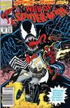 Cover Thumbnail for Web of Spider-Man (1985 series) #95 [Newsstand Edition]