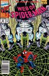 Cover Thumbnail for Web of Spider-Man (1985 series) #98 [Newsstand Edition]