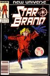 Cover for Star Brand (Marvel, 1986 series) #1 [Newsstand Edition]