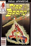 Cover for Star Brand (Marvel, 1986 series) #2 [Newsstand Edition]