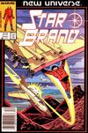 Cover for Star Brand (Marvel, 1986 series) #3 [Newsstand Edition]
