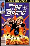 Cover for Star Brand (Marvel, 1986 series) #5 [Newsstand Edition]