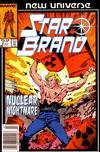 Cover for Star Brand (Marvel, 1986 series) #8 [Newsstand Edition]