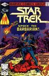 Cover for Star Trek (Marvel, 1980 series) #10 [Direct]