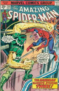 Cover Thumbnail for The Amazing Spider-Man (Marvel, 1963 series) #154