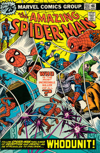 Cover Thumbnail for The Amazing Spider-Man (Marvel, 1963 series) #155 [25¢ cover price]