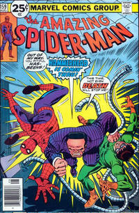 Cover Thumbnail for The Amazing Spider-Man (Marvel, 1963 series) #159 [25¢ cover price]