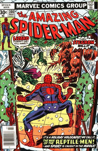 Cover Thumbnail for The Amazing Spider-Man (Marvel, 1963 series) #166 [Newsstand Edition]